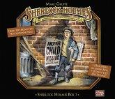 Sherlock Holmes Box, 4 Audio-CDs