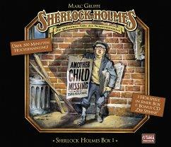 Sherlock Holmes Box, 4 Audio-CDs - Doyle, Arthur Conan