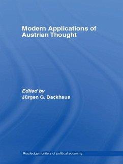 Modern Applications of Austrian Thought (eBook, ePUB)
