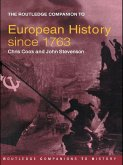 The Routledge Companion to Modern European History since 1763 (eBook, ePUB)