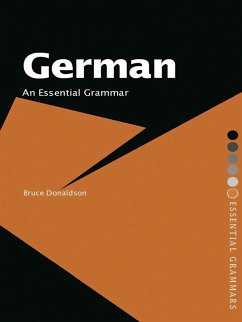 German: An Essential Grammar (eBook, ePUB) - Donaldson, Bruce