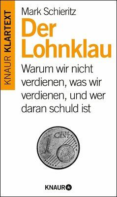 Der Lohnklau (eBook, ePUB) - Schieritz, Mark