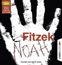 Noah, 2 MP3-CD - Fitzek, Sebastian