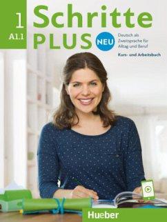 Schritte plus Neu 01. Kursbuch+Arbeitsbuch+CD zum Arbeitsbuch - Bovermann, Monika; Niebisch, Daniela; Penning-Hiemstra, Sylvette; Pude, Angela; Specht, Franz
