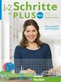 Medienpaket, 5 Audio-CDs und 1 DVD zum Kursbuch / Schritte plus Neu - Deutsch als Fremdsprache / Deutsch als Zweitsprache 1+2
