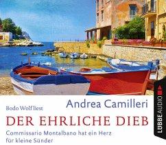 Der ehrliche Dieb / Commissario Montalbano, 4 Audio-CDs - Camilleri, Andrea