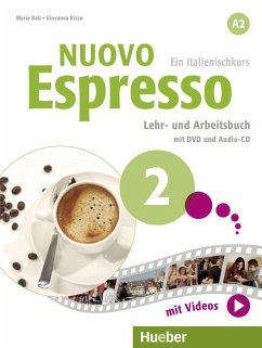 Nuovo Espresso A2. Lehr- und Arbeitsbuch mit DVD und Audio-CD - Rizzo, Giovanna; Balì, Maria