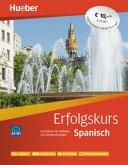 Erfolgskurs Spanisch. Paket: 2 Übungsbücher + 4 Audio-CDs + 2 CD-ROMs