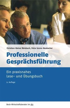 Professionelle Gesprächsführung - Weisbach, Christian-Rainer;Sonne-Neubacher, Petra