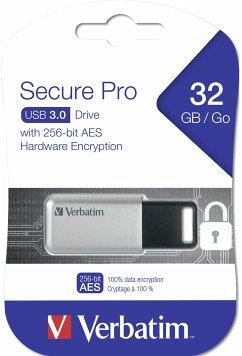 Verbatim 32 GB USB Stick 3.0 Secure Data Pro