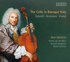 The Cello In Baroque Italy - Dieltiens/Van Der Meer/Woodrow/Junghänel/Kohnen