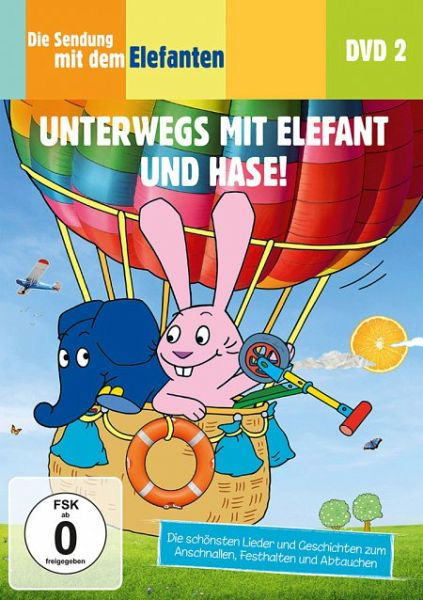 die sendung mit dem elefanten dvd 2 unterwegs mit elefant und hase auf dvd portofrei bei. Black Bedroom Furniture Sets. Home Design Ideas
