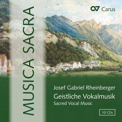Musica Sacra-Geistliche Vokalmusik - Fischer-Dieskau/Mertens/Kammerchor Stuttgart/Colle