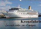Kreuzfahrtschiffe in Europa (Wandkalender 2016 DIN A3 quer)