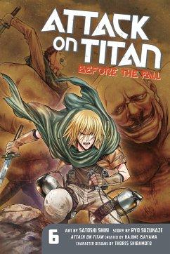 Attack on Titan - Before the Fall, English edition - Isayama, Hajime; Suzukaze, Ryo