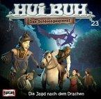 Hui Buh, das Schlossgespenst, neue Welt - Die Jagd nach dem Drachen, Audio-CD / Hui-Buh, das Schloßgespenst Nr.23