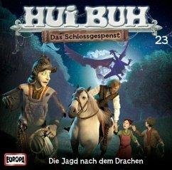 Hui Buh, das Schlossgespenst, neue Welt - Die Jagd nach dem Drachen, Audio-CD / Hui-Buh, das Schloßgespenst Nr.23 - Alexander-Burgh, Eberhard