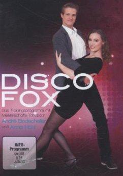 DISCOFOX - Das Trainingsprogramm mit Meisterschafts-Tanzpaar André Bodscheller und Anna Höhl, 1 DVD