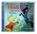 Jagd auf das Phantom / Die Olchis-Kinderroman Bd.9 (2 Audio-CDs)