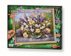 Sommerblumen / Meisterklasse Premium, Malen nac...