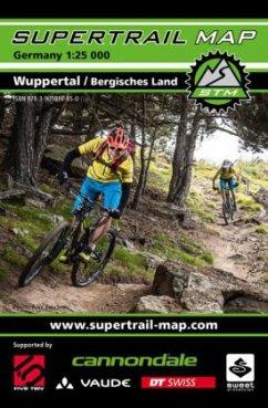 Supertrail Map Wuppertal / Bergisches Land