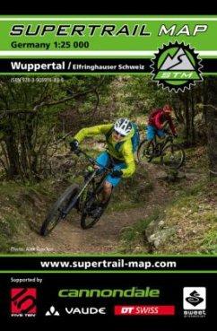 Supertrail Map Wuppertal / Elfringhauser Schweiz