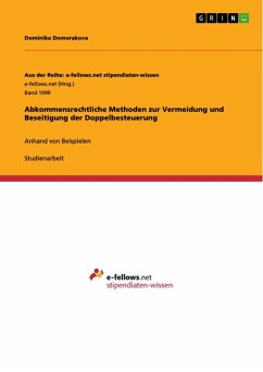 Abkommensrechtliche Methoden zur Vermeidung und Beseitigung der Doppelbesteuerung (eBook, ePUB)