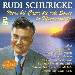 Wenn Bei Capri Die Rote Sonne Im Meer Versinkt - Schuricke,Rudi