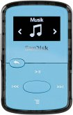 SanDisk Clip JAM 8GB MP3 Player Bright Blue SDMX26-008G-G46B