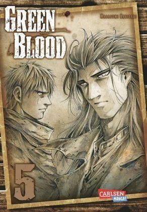 Buch-Reihe Green Blood