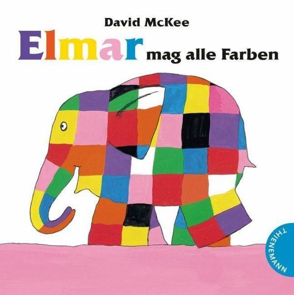 elmar mag alle farben von david mckee buch. Black Bedroom Furniture Sets. Home Design Ideas