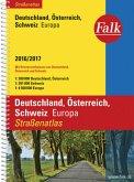 Falk Straßenatlas Deutschland, Österreich, Schweiz, Europa 2016/2017