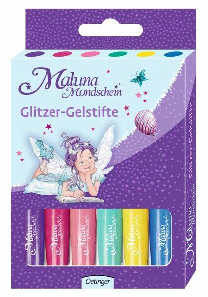 Maluna Mondschein Glitzer-Gelstifte