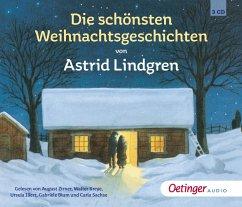Die schönsten Weihnachtsgeschichten, 3 Audio-CDs - Lindgren, Astrid
