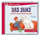 Das Sams und der blaue Wunschpunkt / Das Sams Büchersterne Bd.2, Audio-CD