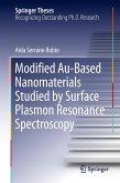 Modified Au-Based Nanomaterials Studied by Surface Plasmon Resonance Spectroscopy