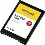 Intenso TOP SSD 2,5 Festplatte 128GB SATA III / Solid State Drive