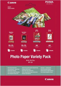 Canon VP-101 Photo Paper Variety Pack A 4 u. 10...