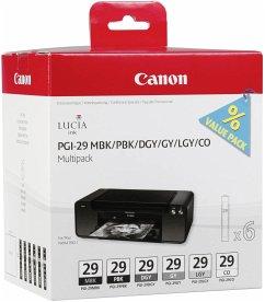 Canon PGI-29 Multipack MBK/PBK/DGY/GY/LGY/CO