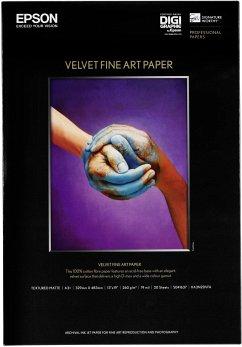 Epson Velvet Fine Art Paper A 3+ 20 Blatt, 260 g S 041637