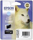 Epson Tintenpatrone light cyan T 096 UltraChrome K 3 T 0965