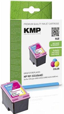 KMP H48 Tintenpatrone color kompatibel mit HP CC656AE