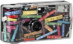 Single use Kamera Flash 400 27 I mog di Einwegkamera schwarz