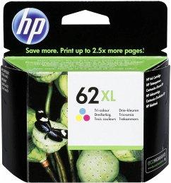 HP C2P07AE Tintenpatrone 3-farbig No. 62 XL