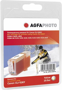 AgfaPhoto CLI-526 Y yellow with chip