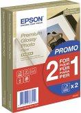 2x 40 Epson Premium Glossy Photo Paper 10x15 cm, 255 g