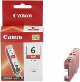 3 Canon BCI-6 R Tintenpatrone rot