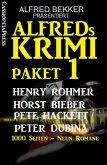 Alfreds Krimi Paket 1 (eBook, ePUB)