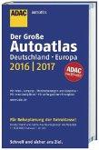 Der Große ADAC AutoAtlas Deutschland, Europa 2016/2017