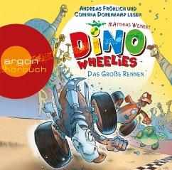 Das große Rennen / Dino Wheelies Bd.2 (Audio-CD)